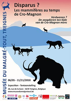 exhibition mammals in the time of Cro-Magnon